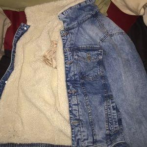 Jean jacket from Abercrombie
